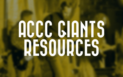 ACCC '16 Giants Resources