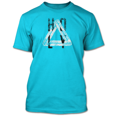 Holy Shirt (Men's Bondi Blue)