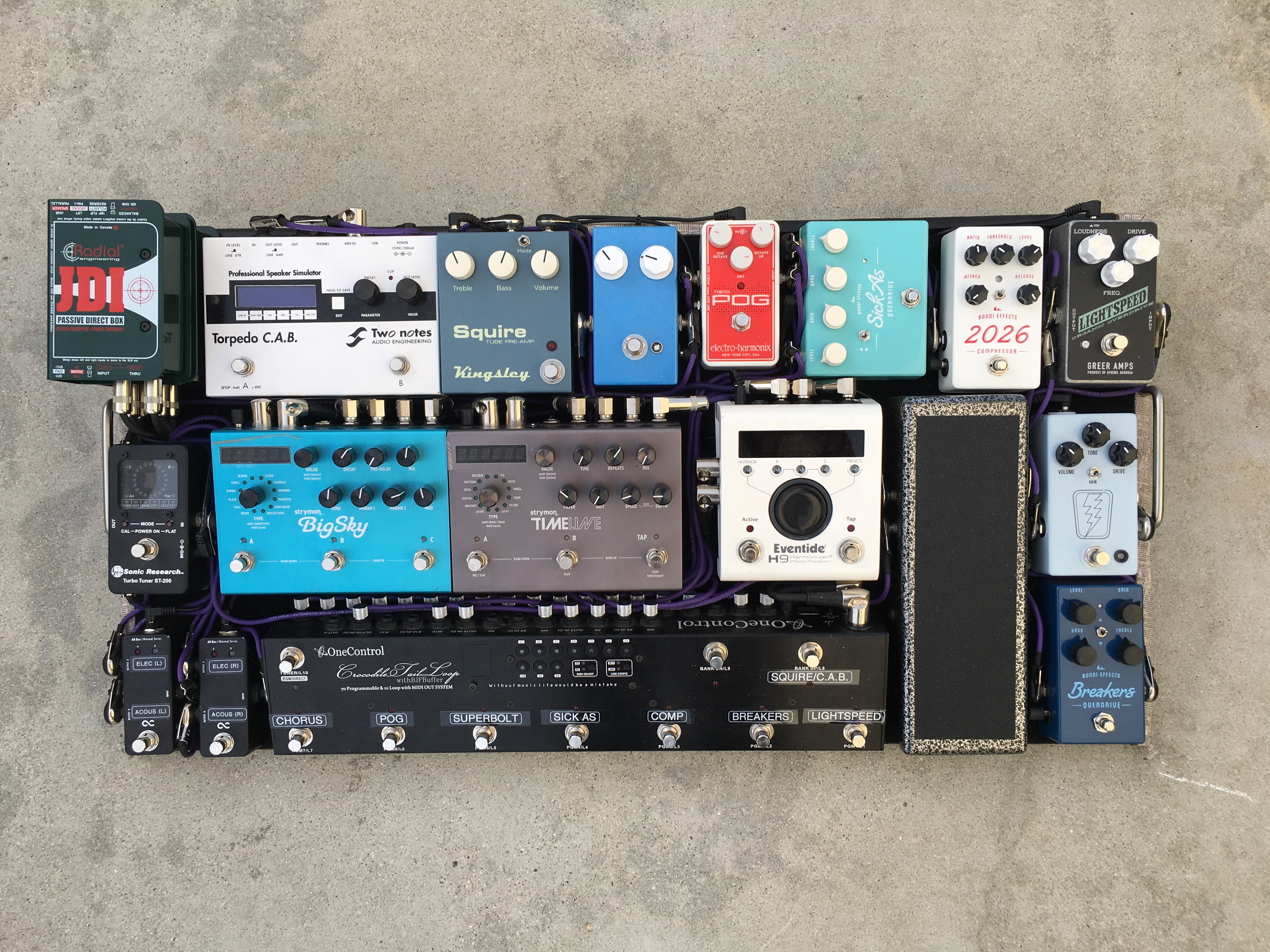 For those who have seen my pedalboard in person or have watched my rig run  through video and are looking for more information about the MIDI  integration, ...
